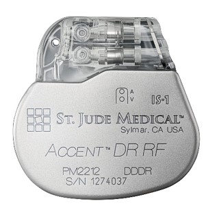 Accent™ 植入式心脏起搏器