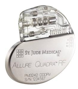 Allure Quadra植入式心脏再同步起搏器