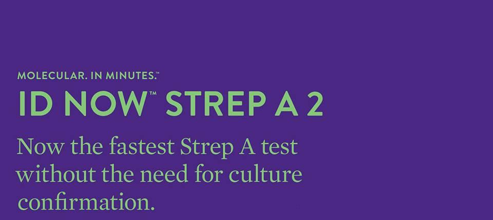 ID NOW™ STREP A 2 BROCHURE