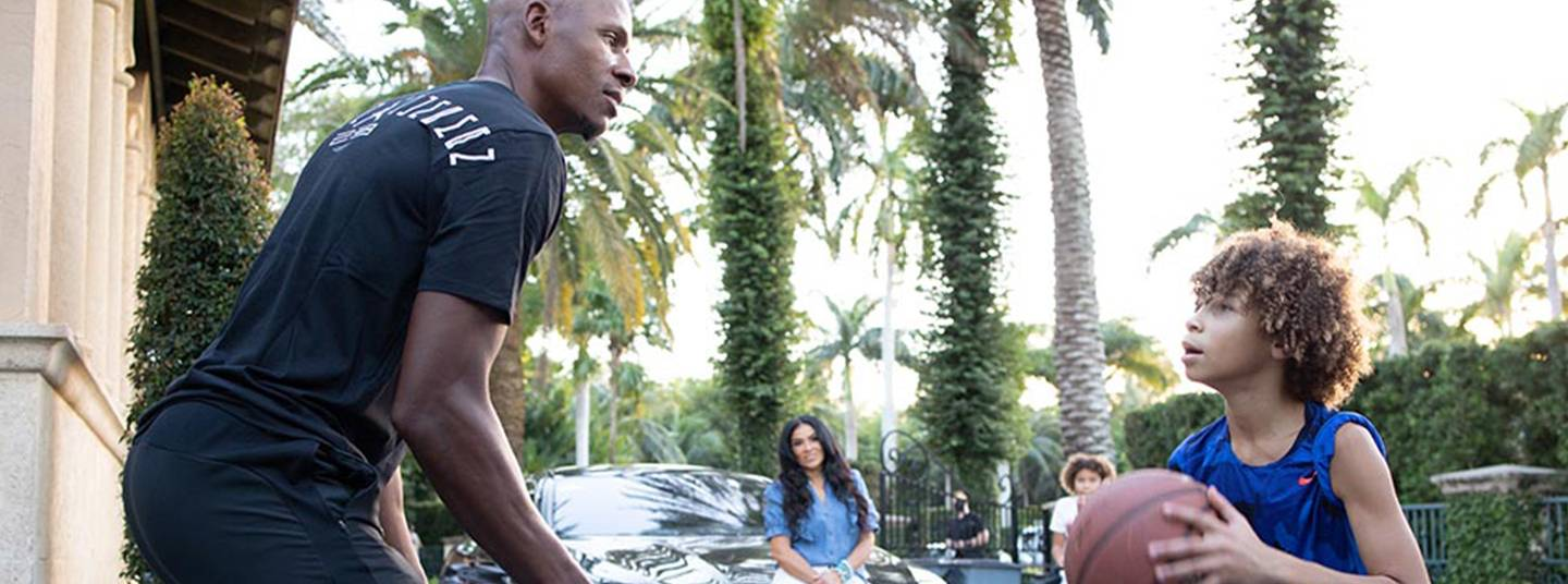FREESTYLE LIBRE 2 PUTS NBA LEGEND RAY ALLEN AT EASE