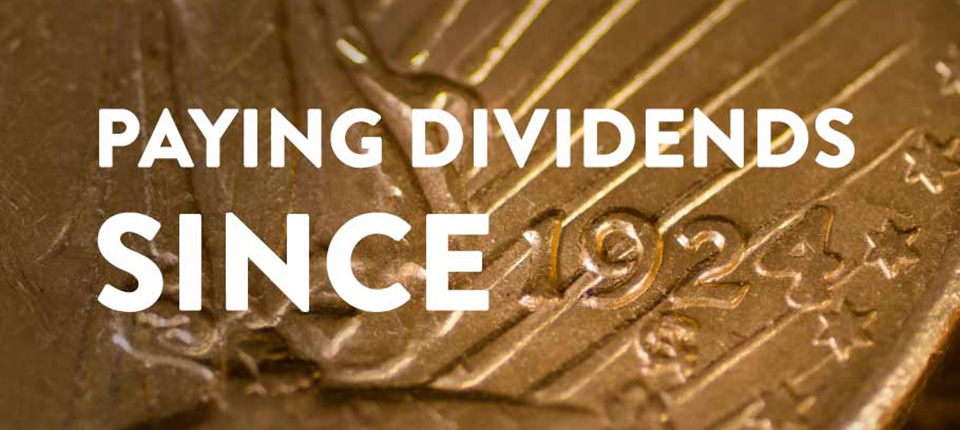 45 Years of Increasing Dividends