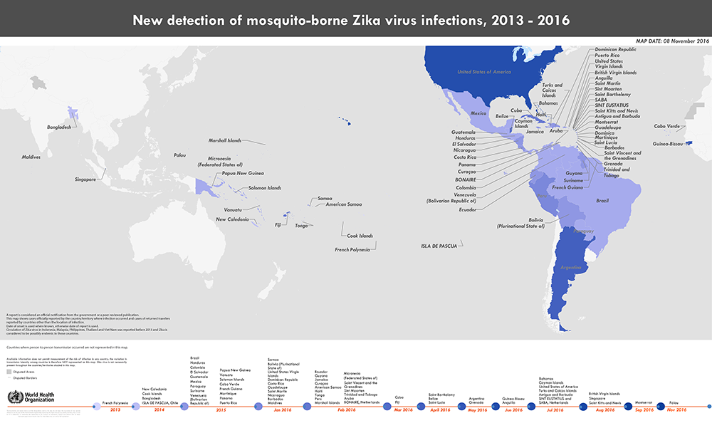 Zika Timeline WHO