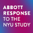 Abbott Response to the NYU Study