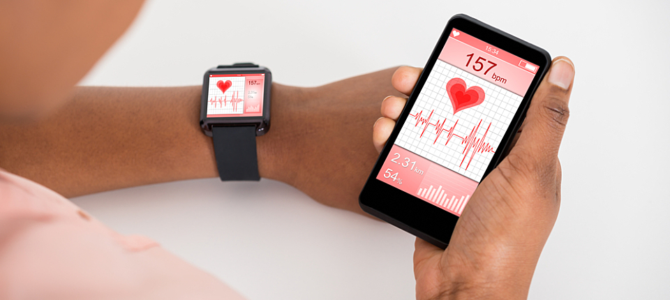 A patient's management of chronic illness can be enhanced with apps and smart watches.