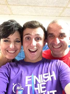 Jo Anne, Brian and Mike Rubin