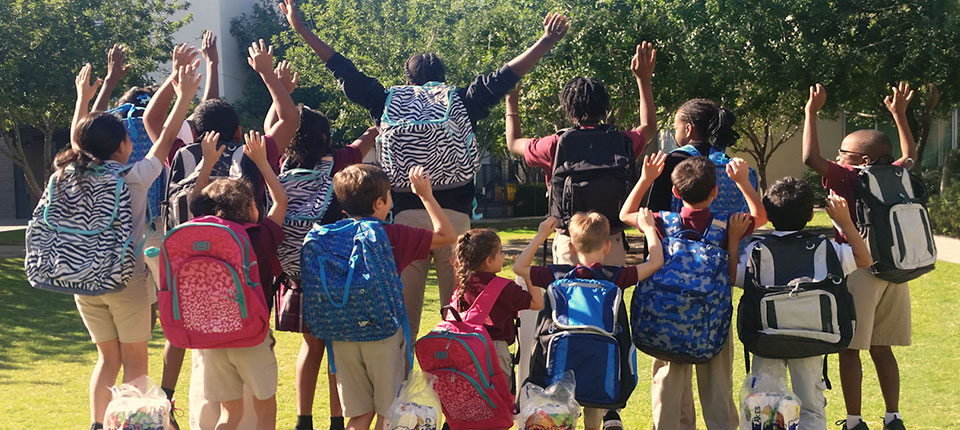 Feeding Hungry Families, One Backpack at a Time