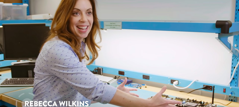 Rebecca Wilkins Combines Electrical Engineering and Medicine to Create Life-Changing Technology