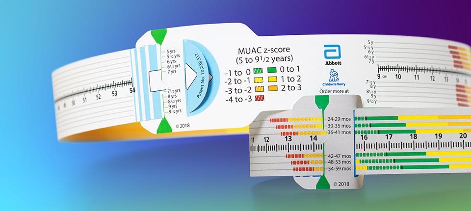 The MUAC z-score tape