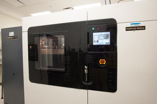 3D printer housed in Abbott's diagnostics business in Santa Clara, California.
