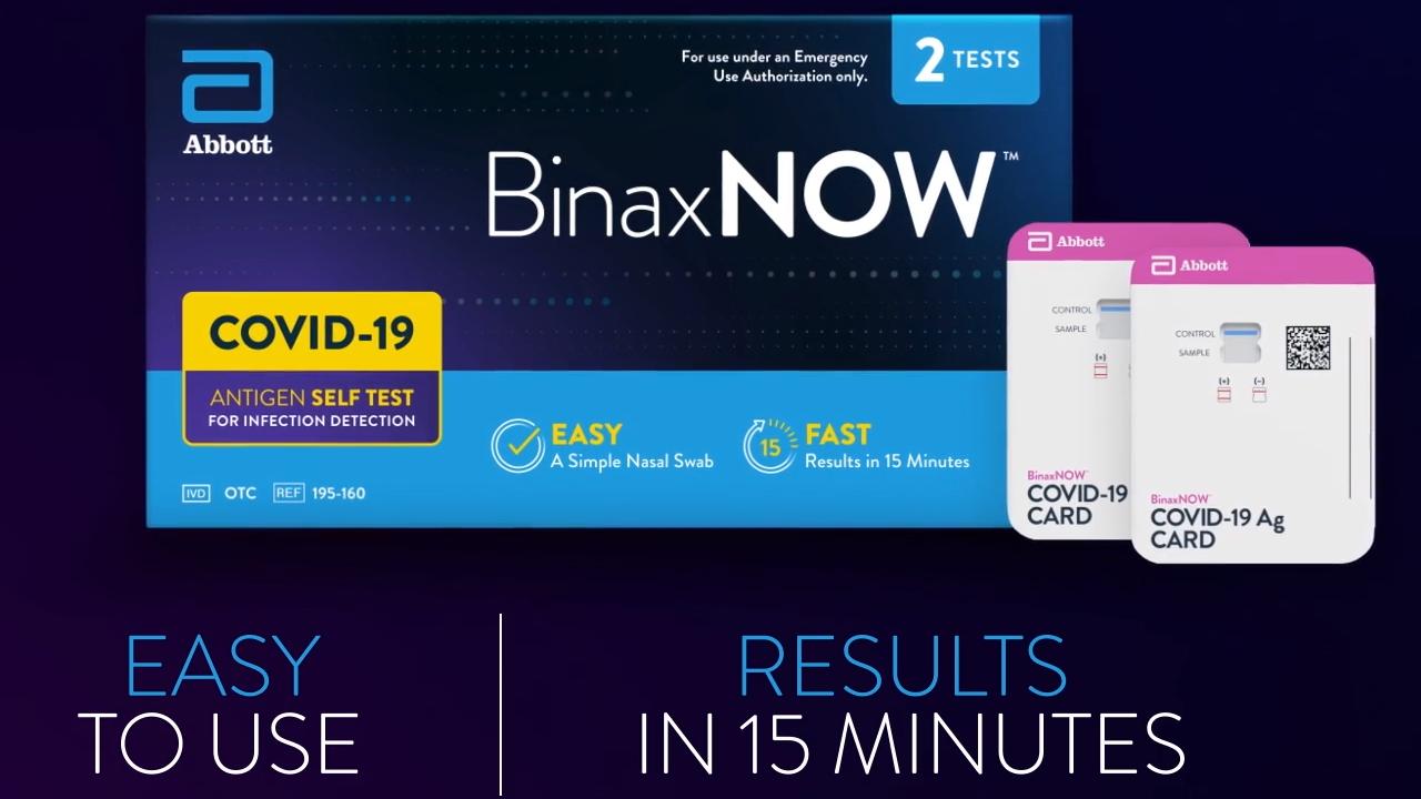BinaxNOW home test