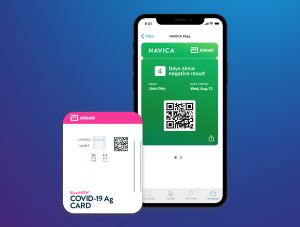 Quick Facts: BinaxNOW COVID-19 Ag Card and NAVICA App