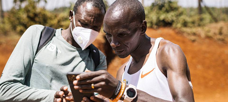 WITH ELIUD KIPCHOGE, LIBRE SENSE IS RUNNING WITH A VERY FAST CROWD