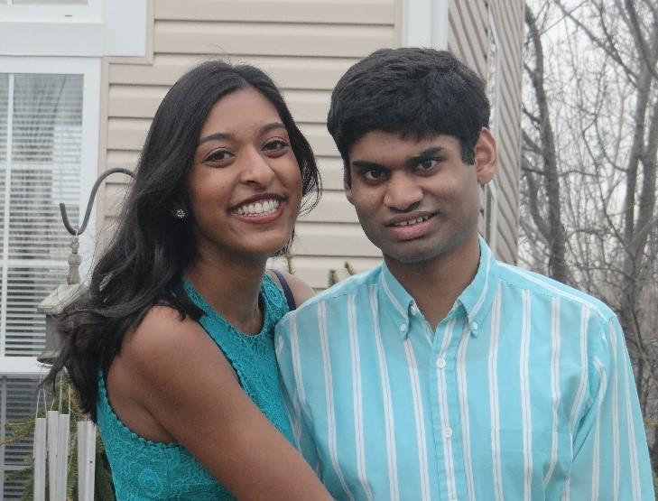 Alyssa Dias and her brother Luke