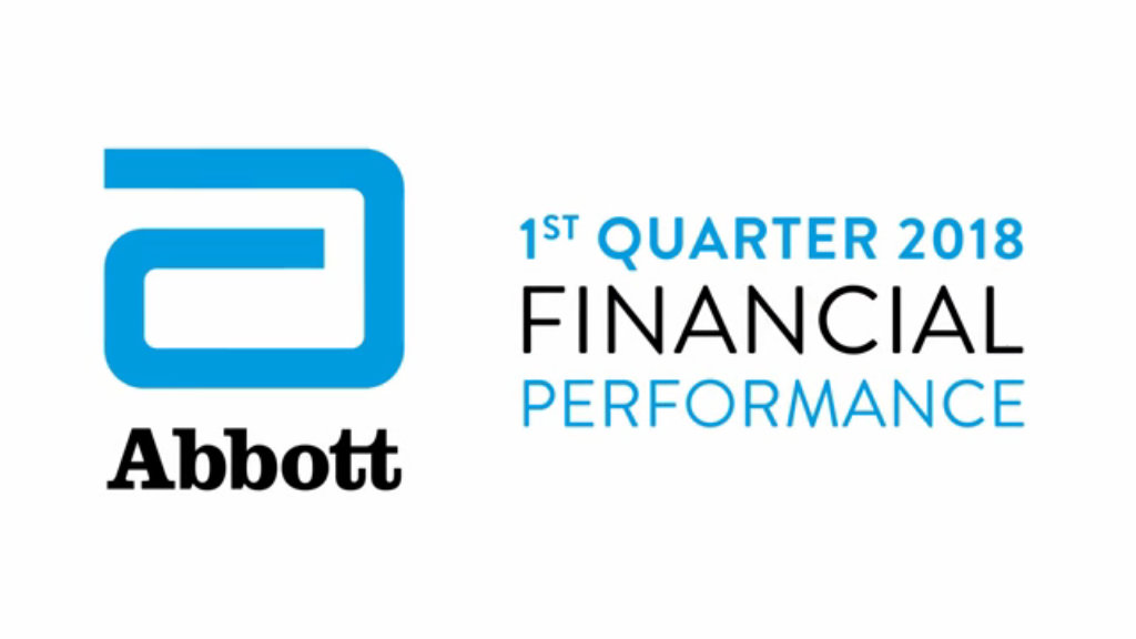 Abbott Reports Strong Growth in First Quarter