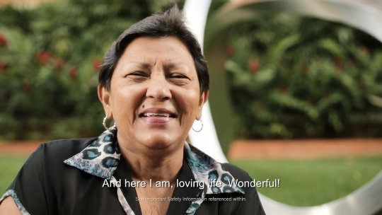 Octalina Mendoza, the first MitraClip patient