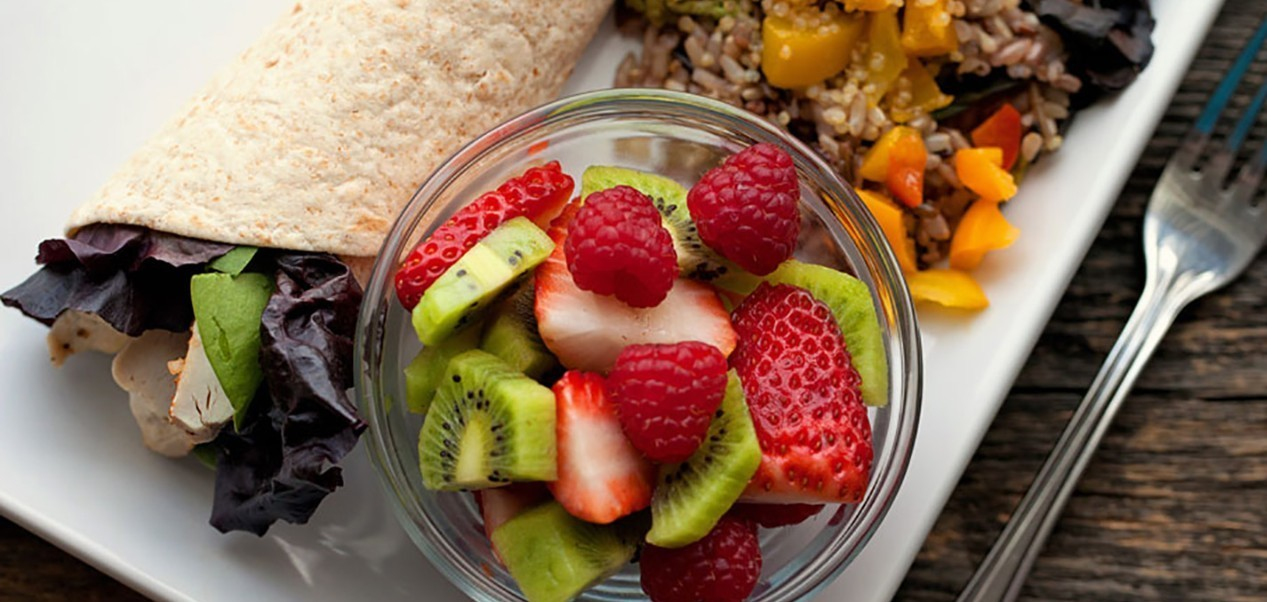 Focus on serving nutrient-dense food