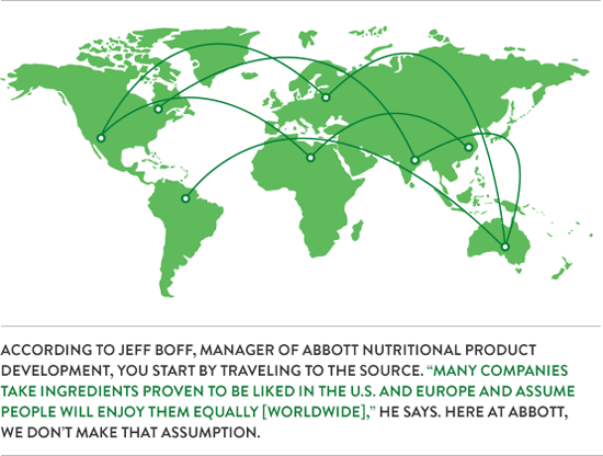 The Science of Taste   Nutrition Products   Abbott U S